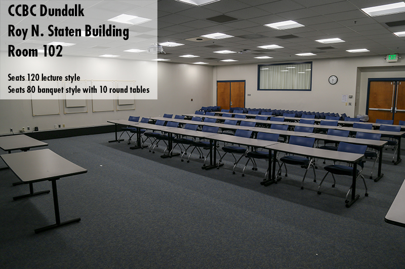 Photo of CCBC Dundalk Staten multi purpose room 102