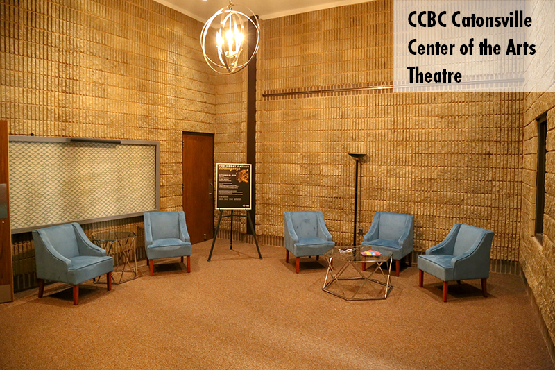 Photo of the CCBC Catonsville theatre