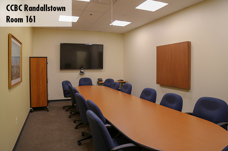 Photo of Randallstown conference room 161