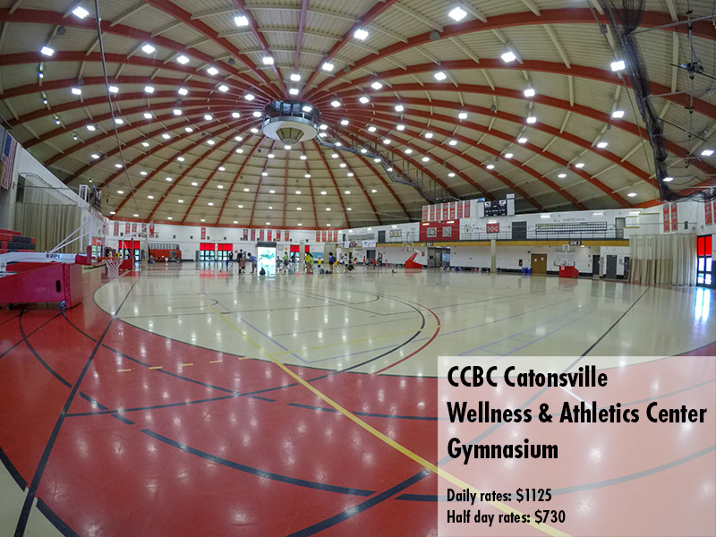 Photo of the CCBC Catonsville Gymnasium