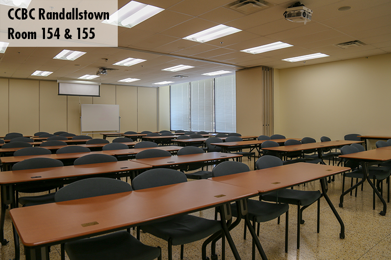 Classroom photo of Randallstown room 154 and 155
