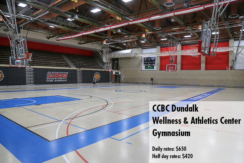 Photo of the CCBC Dundalk Gymnasium