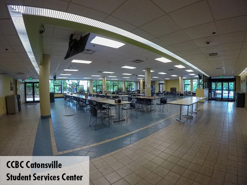 Photo of CCBC Catonsville Cafeteria