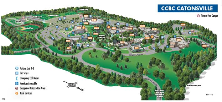 ccbc essex campus map Ccbc Catonsville ccbc essex campus map