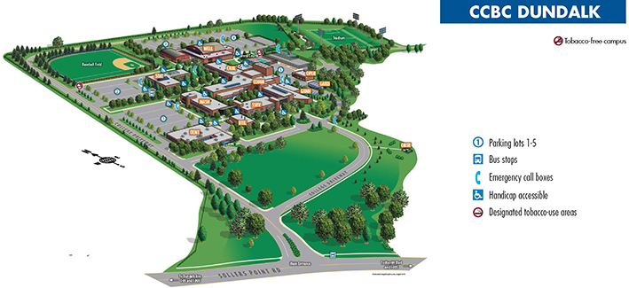 ccbc essex campus map Ccbc Dundalk ccbc essex campus map