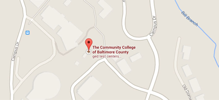 Get directions to CCBC Catonsville on