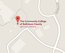 CCBC Catonsville in Google maps