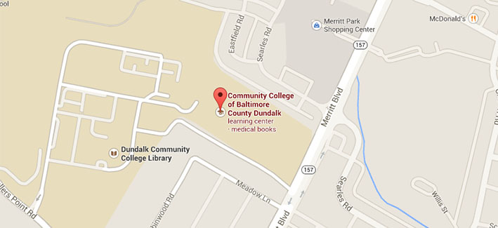 Get directions to CCBC Dundalk on