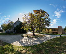 catonsville campus on a sunny day