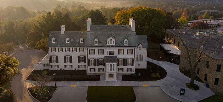 photo of the hilton mansion on the catonsville campus