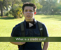 Financial aid tv credit card information
