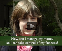 Financial aid video thumbnail on managing money