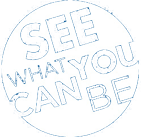 photo of the see what you can be logo