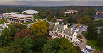 Ariel view of the Catonsville campus