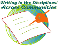 Logo for Writing in the Disciplines Across Communities program