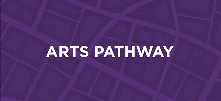 Graphic for the Arts Pathway