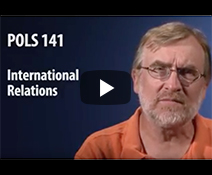 YouTube thumbnail of Professor John Dedie giving an introduction to International Relations