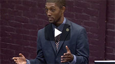 YouTube thumbnail of CCBC Constitution Week Speaker Brandon Scott