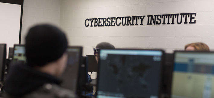 CCBC Cyber Security computer lab