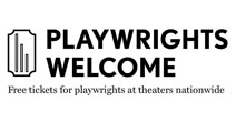 playwrights welcome here logo