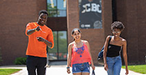 photo of young people touring the ccbc essex campus