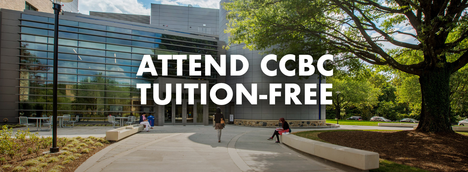 Attend CCBC tuition-free