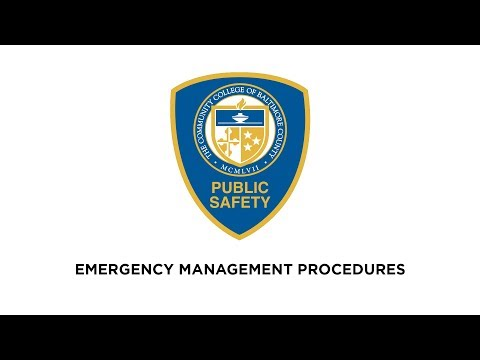 public safety emergency procedures