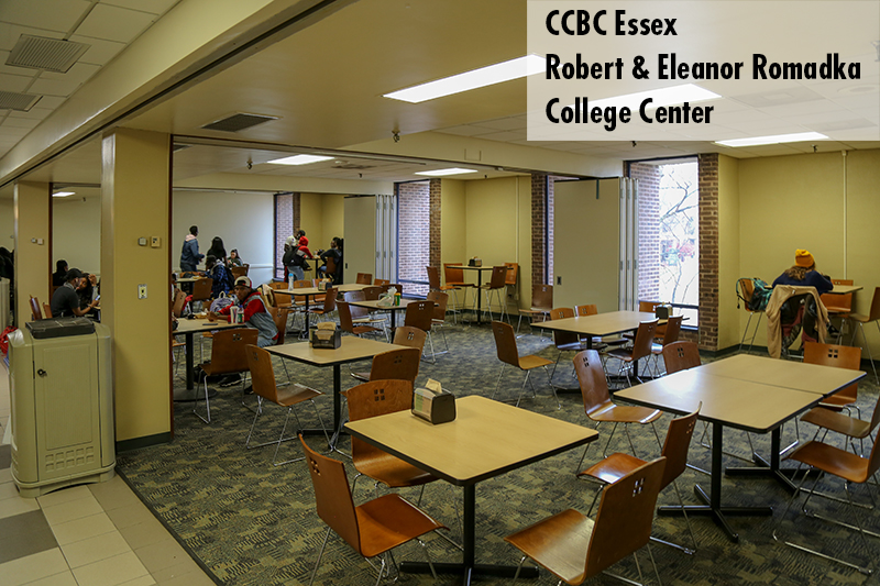 Photo of CCBC Essex Cafeteria