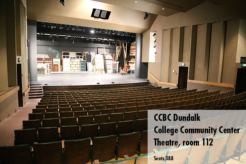Photo of the CCBC Dundalk theatre