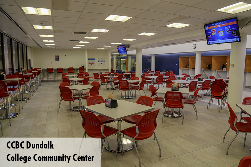Photo of CCBC Dundalk Cafeteria