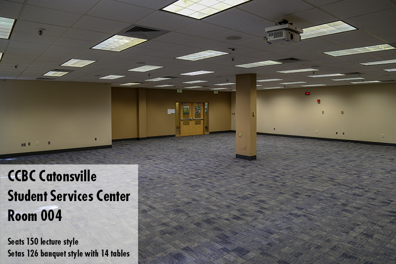 Photo of CCBC Catonsville Student Services center room 004